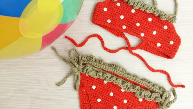 DIY COSTUME FRAGOLA AD UNCINETTO – SECONDA PARTE-