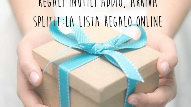 Lista regali online. La colletta digitale è il futuro