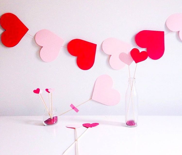 Decorazioni san valentino fai da te crea il tuo party kit for Decorazioni san valentino fai da te